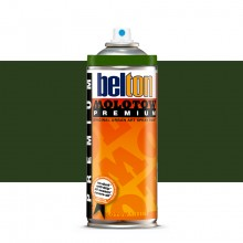 Molotow : Belton Premium Spray Paint : 400ml : Chromium Oxide Green 166 : Ship By Road Only