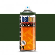Molotow : Belton Premium Spray Paint : 400ml : Black Green 167 : Ship By Road Only