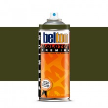 Molotow : Belton Premium Spray Paint : 400ml : Evil Olive 173 : Ship By Road Only