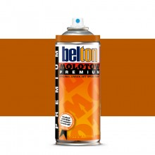 Molotow : Belton Premium Spray Paint : 400ml : Orange Brown 201 : Ship By Road Only