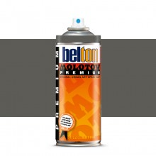 Molotow : Belton Premium Spray Paint : 400ml : Dark Grey Neutral 216 : Ship By Road Only