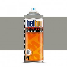 Molotow : Belton Premium Spray Paint : 400ml : Middle Grey Neutral 217 : Ship By Road Only