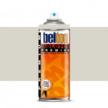 Molotow : Belton Premium Spray Paint : 400ml : Light Grey Neutral 218 : Ship By Road Only