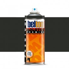 Molotow : Belton Premium Spray Paint : 400ml : Black Grey Dark 222 : Ship By Road Only