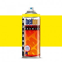 Molotow : Belton Premium Spray Paint : 400ml : Neon Yellow 232 : Ship By Road Only