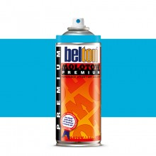 Molotow : Belton Premium Spray Paint : 400ml : Neon Blue 235 : Ship By Road Only