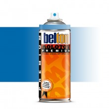 Molotow : Belton Premium Spray Paint : 400ml : Shock Blue Transparent 243 : Ship By Road Only