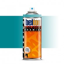Molotow : Belton Premium Spray Paint : 400ml : Lagoon Blue Transparent 244 : Ship By Road Only