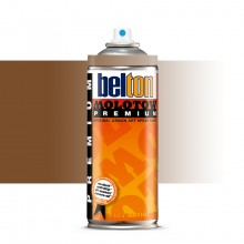 Molotow : Belton Premium Spray Paint : 400ml : Beige Brown Transparent 247 : Ship By Road Only