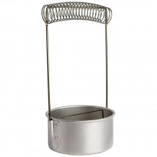JAS : Large Metal Brush Washer : 10cm Dia. (loose lid)