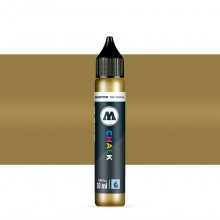 Molotow : Chalk Marker Refill : 30ml : Metallic Gold #002