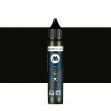 Molotow : Chalk Marker Refill : 30ml : Black #004