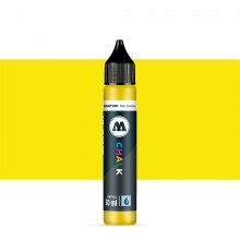 Molotow : Chalk Marker Refill : 30ml : Neon Yellow #006