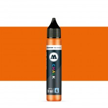 Molotow : Chalk Marker Refill : 30ml : Neon Orange #007