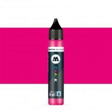 Molotow : Chalk Marker Refill : 30ml : Neon Pink #008
