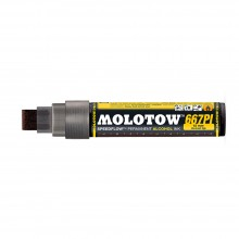 Molotow : Masterpiece 667PI Speedflow Marker : 15mm : Copper Black : Ship By Road Only