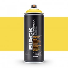Montana : Black : 400ml : Kicking Yellow : Ship By Road Only