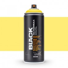 Montana : Black : 400ml : Power Yellow : Ship By Road Only