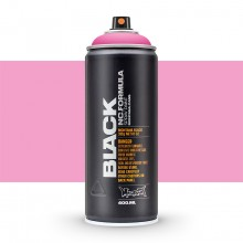 Montana : Black : 400ml : Power Pink : Ship By Road Only