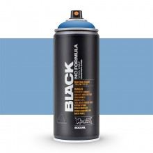Montana : Black : 400ml : Power Blue : Ship By Road Only