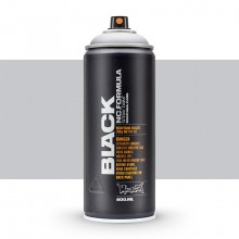 Montana : Black : 400ml : Outline Silver (By Road Parcel Only)
