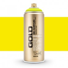 Montana : Gold : 400ml : Fluorescent Flash Yellow : Opaque : Ship By Road Only