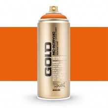 Montana : Gold : 400ml : Orange : Opaque : (Road Shipping Only)