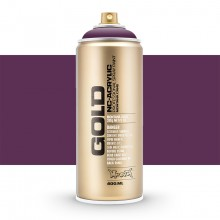 Montana : Gold : 400ml : Deep Purple : Opaque : (Road Shipping Only)