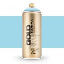 Montana : Gold : 400ml : Fresh Blue : Opaque : (Road Shipping Only)