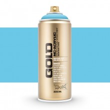 Montana : Gold : 400ml : Baby Blue : Opaque : Ship By Road Only