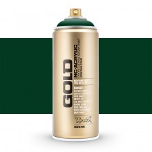 Montana : Gold : 400ml : Jungle Green : Opaque