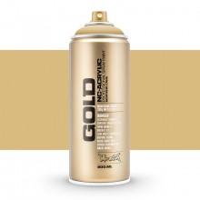 Montana : Gold : 400ml : Sahara Beige : Opaque : Ship By Road Only