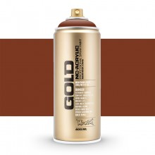 Montana : Gold : 400ml : Orange Brown : Opaque : (Road Shipping Only)