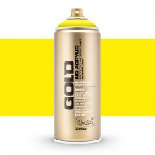 Montana : Gold : 400ml : Power 100% Yellow : Opaque : : Ship By Road Only