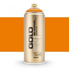 Montana : Gold : 400ml : Shock Orange Light : Opaque : By Road Parcel Only