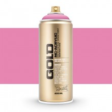 Montana : Gold : 400ml : Shock Pink Light : Opaque : Ship By Road Only