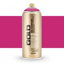 Montana : Gold : 400ml : Shock Pink : Opaque : By Road Parcel Only