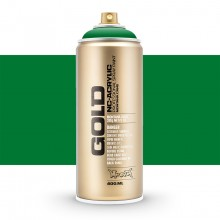 Montana : Gold : 400ml : Shock Green : Opaque : (Road Shipping Only)