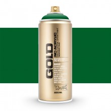 Montana : Gold : 400ml : Shock Green Dark : Opaque : (Road Shipping Only)