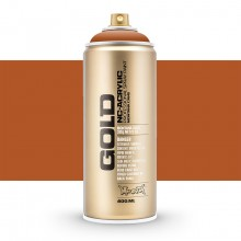 Montana : Gold : 400ml : Shock Brown Light : Opaque : Ship By Road Only