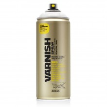 Montana : Tech Spray : Varnish : 400ml : Matte : (By Road Parcel Only)