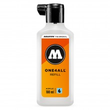 Molotow : One4All : Empty Bottle : 180ml : For Acrylic Paint Refills