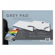 New Wave : Grey Pad Rectangular Disposable Paper Palette