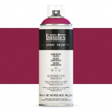 Liquitex : Professional : Spray Paint : 400ml : Quinacridone Magenta : Ship By Road Only