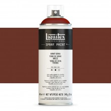 Liquitex : Professional : Spray Paint : 400ml : Burnt Sienna : By Road Parcel Only