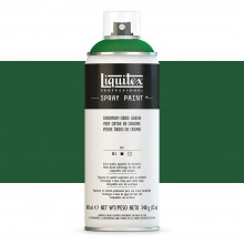 Liquitex : Professional : Spray Paint : 400ml : Chromium Oxide Green : By Road Parcel Only