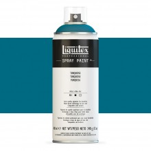 Liquitex : Professional : Spray Paint : 400ml : Turquoise : Ship By Road Only