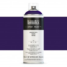 Liquitex : Professional : Spray Paint : 400ml : Dioxazine Purple : By Road Parcel Only