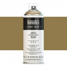 Liquitex : Professional : Spray Paint : 400ml : Iridescent Antique Gold : By Road Parcel Only