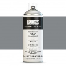 Liquitex : Professional : Spray Paint : 400ml : Iridescent Rich Silver : Ship By Road Only